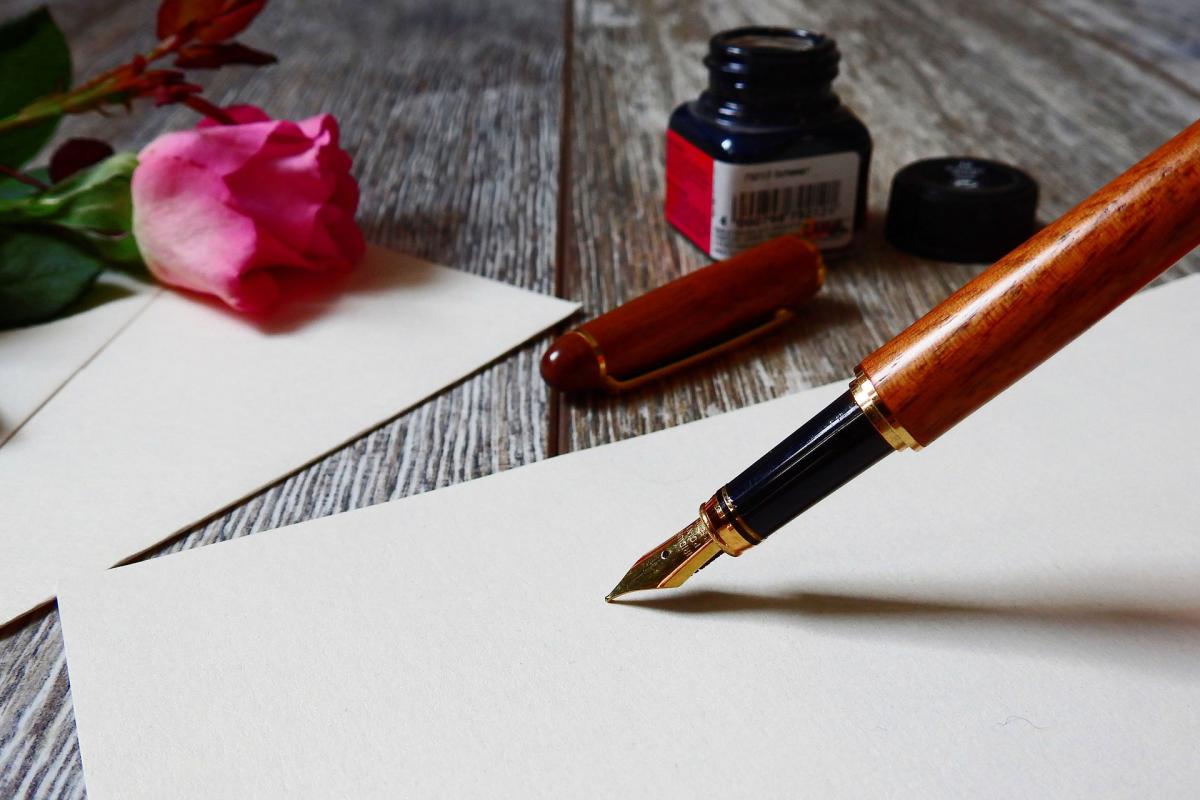 Pisanie piórem ma pozytywny wpływ na zdrowie?